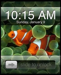 Apple iPhone UI