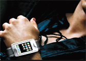iphone horloge