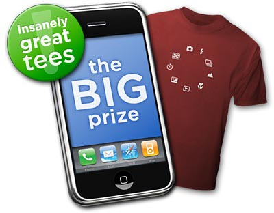 iphone t-shirt
