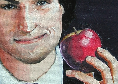 nitrozac steve jobs closeup