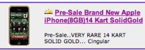 Aanbieden iPhone op eBay