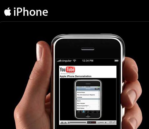 YouTube op de Apple iPhone