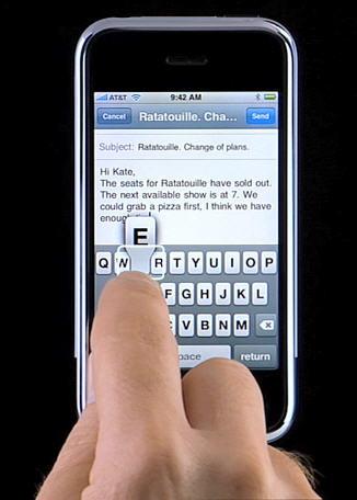 iPhone toetsenbord - voorspellende gaven