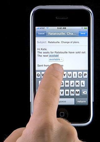 iPhone toetsenbord - autocorrectie