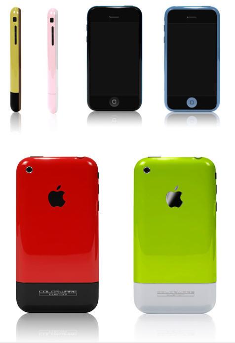 De Apple iPhone is nu ook in verschillende kleuren te krijgen