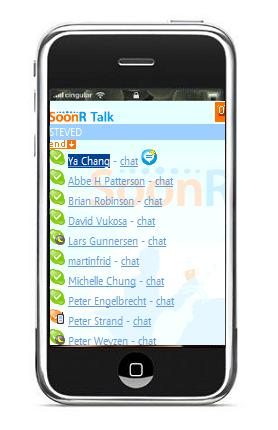 Soonr, VoIP op de iPhone