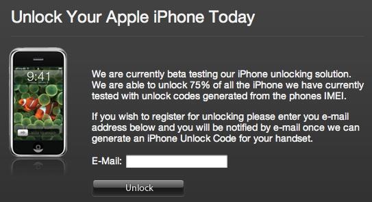 Sim-lock van iPhone hacken