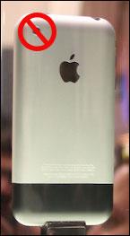 iPhone zonder camera