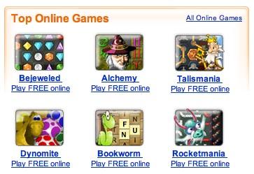 Popcap online games