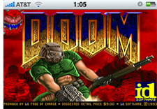 iPhone Doom game