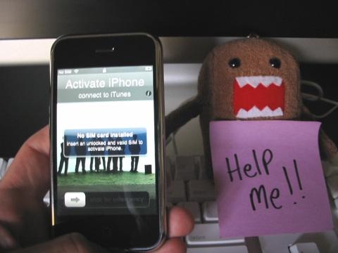 Gebrickte iPhone