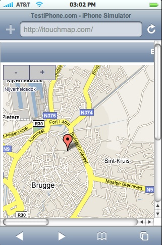 iTouch Maps