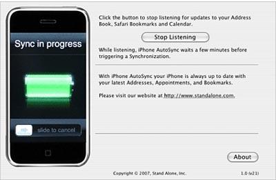 iPhone autosync