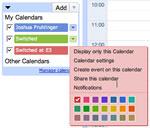 Google Calendar op iPhone