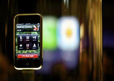 iPhone met verlies