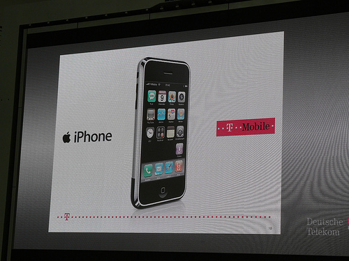 T-Mobile aankondiging iPhone