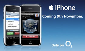 Britse iPhone
