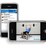 Gyminee workout iPhone