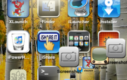 Screenshot iPhone maken met Dock