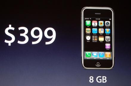 iPhone omlaag naar 399 dollar