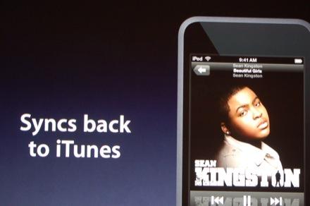 De via Wi-Fi gekochte nummers kunnen weer worden gesynchroniseerd met de lokale iTunes