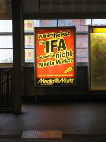 IFA Poster van Media Markt