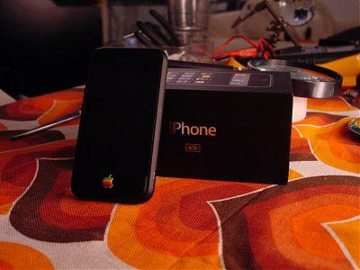 iphone zwart