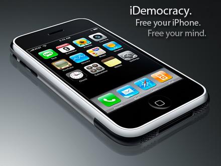 iDemocracy 1.1.1 - jailbreak voor iPhone firmware 1.1.1