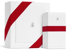 Apple kerstkado