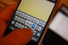 Letters met accenten op iPhone