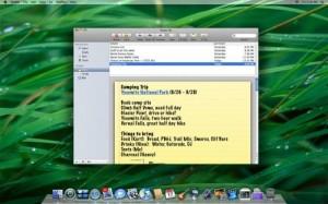 iPhone notities synchroniseren in Leopard