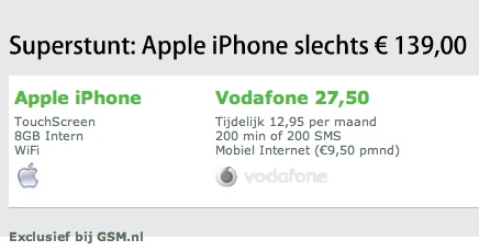 iPhone te koop bij gsm.nl