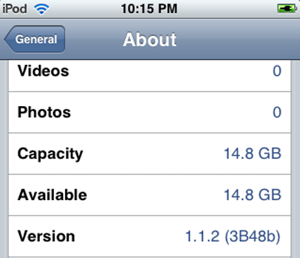 iPhone jailbreak 1.1.2