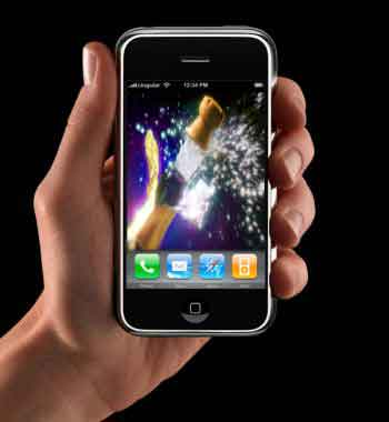 iPhone champagne 2008