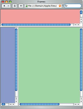 Frames in Safari (desktop)