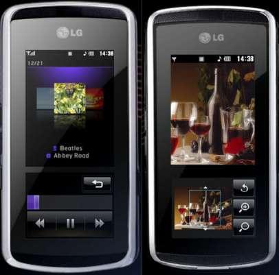 InteractPad van LG KF-600