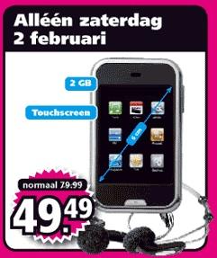 Intertoys verkoopt iPhone kloon