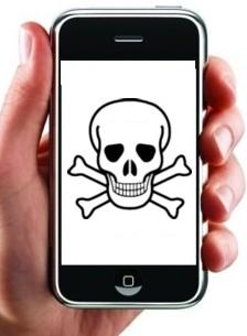 iPhone besmet