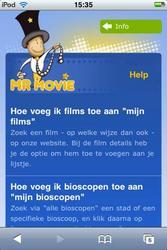 MrMovie - uitleg voor de iPhone-applicatie
