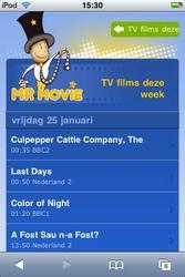 MrMovie - precieze bioscooptijden op de iPhone