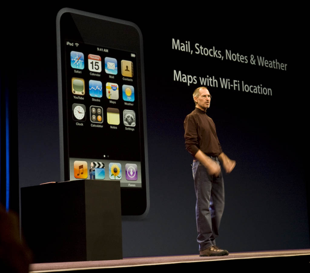 Steve Iphone Macworld