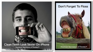 iPhone Dentists Ad