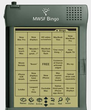 Macworld Bingo