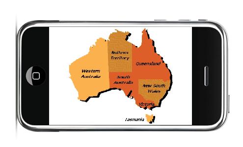 iPhone in australie, handelswet
