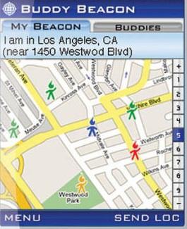 Buddy Beacon op iPhone