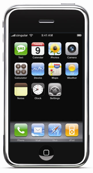 iPhone niet in 3G-variant
