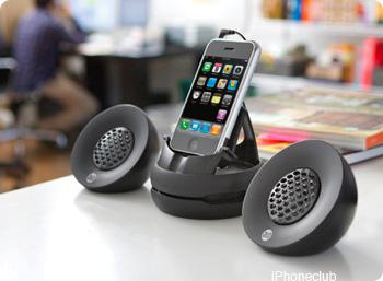 DLO Portable speakers in gebruik