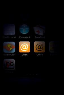 Clipit maakt webclips met telefoonnummers en wachtwoord
