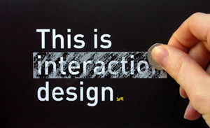 This is interaction design
