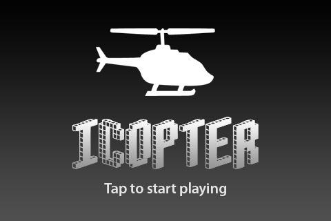 iCopter beginscherm